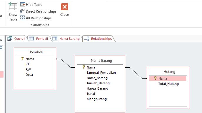 Membuat Database Sederhana Dengan Microsoft Access Dan Template Gantt Project Planner Microsoft Excel Rahmatunnisya S Blog